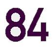 numerisches Regalzeilen- Gangschild, weiß