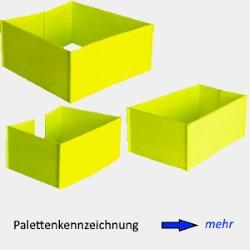 Produktindex Palettenkennzeichnung