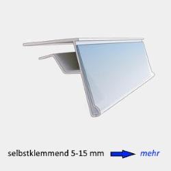 Etikettenhalter selbstklemmend 5-15 mm
